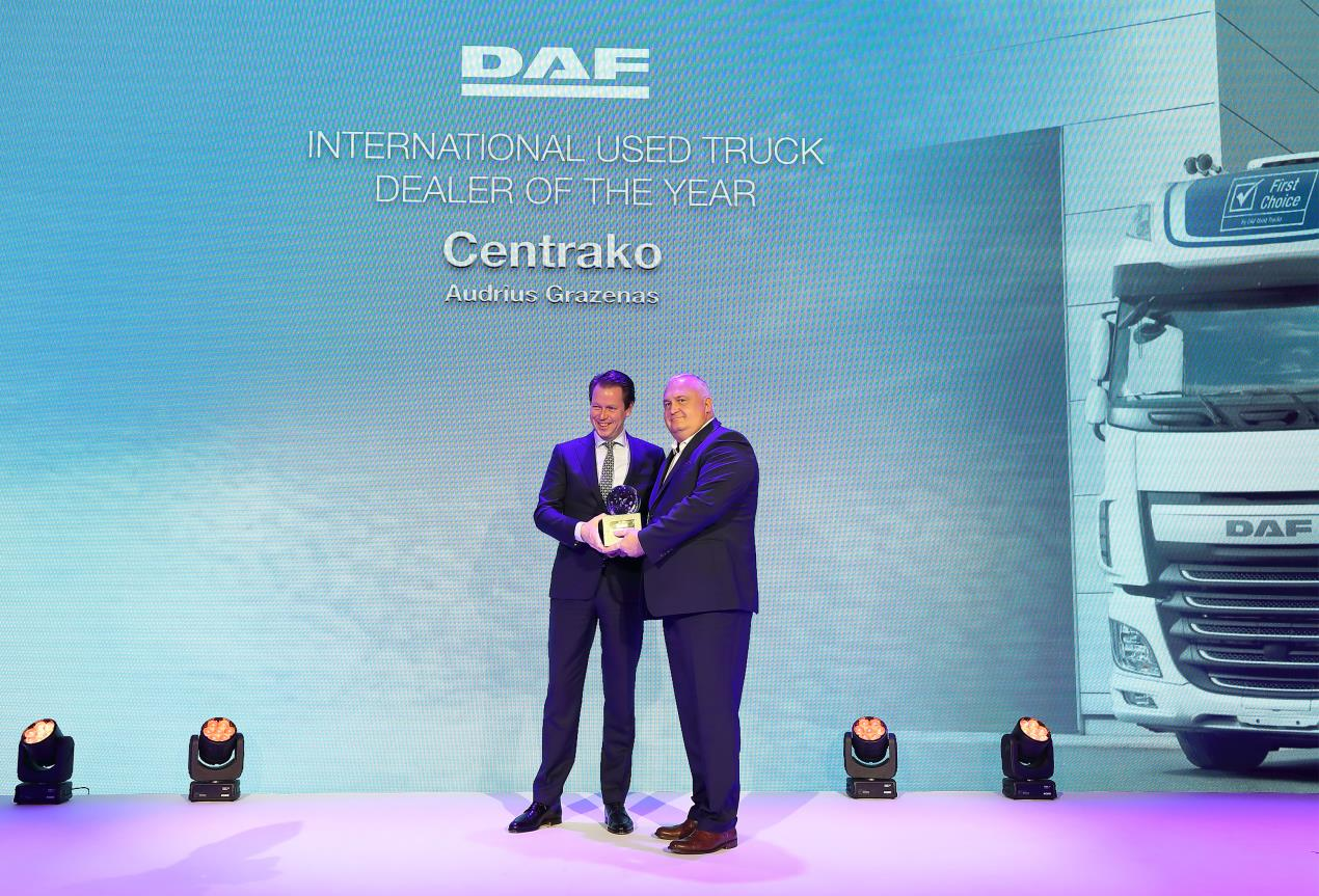 4 - DAF Used Truck Dealer of the Year