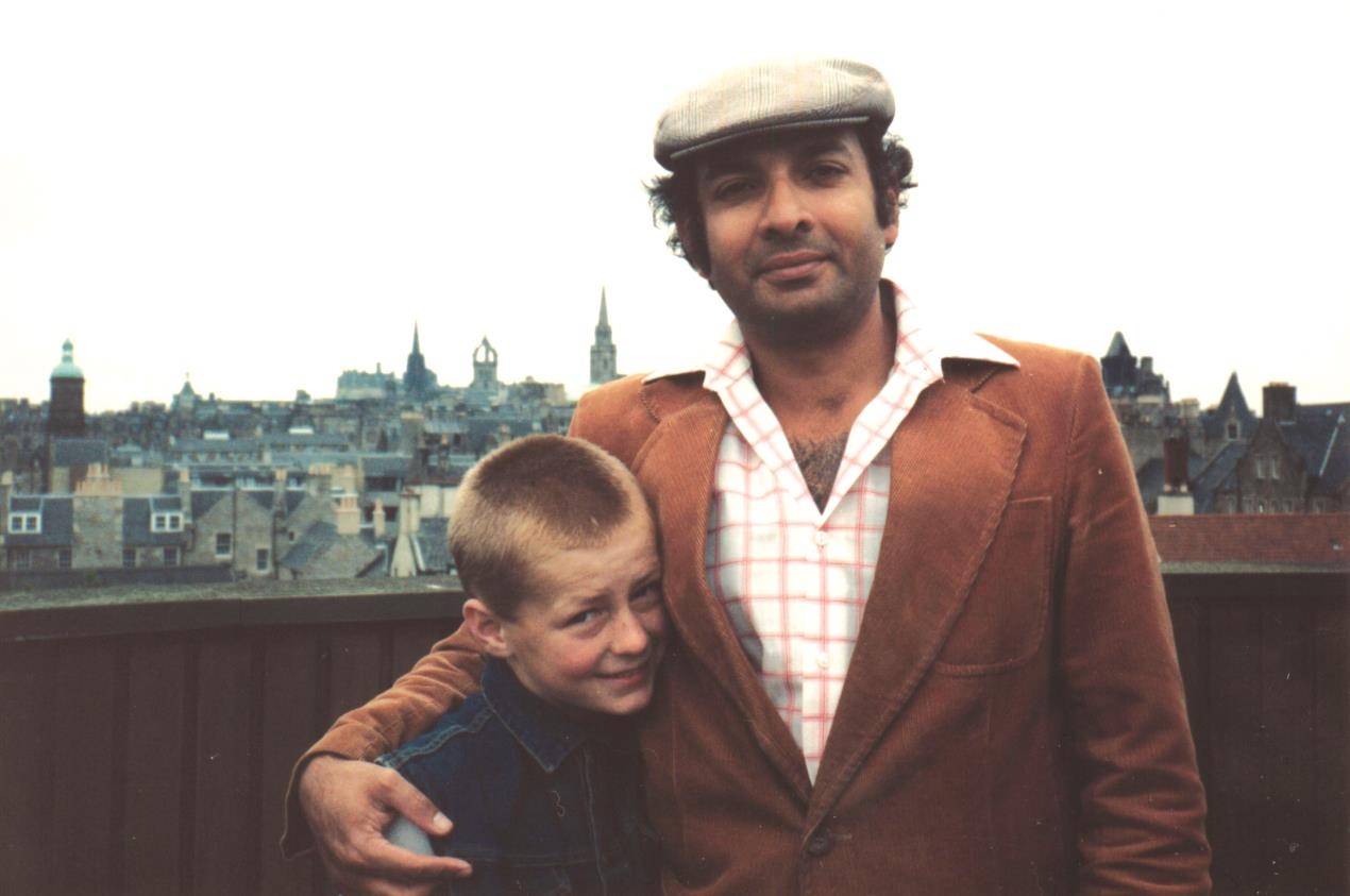John & Dad Edinburgh 1984