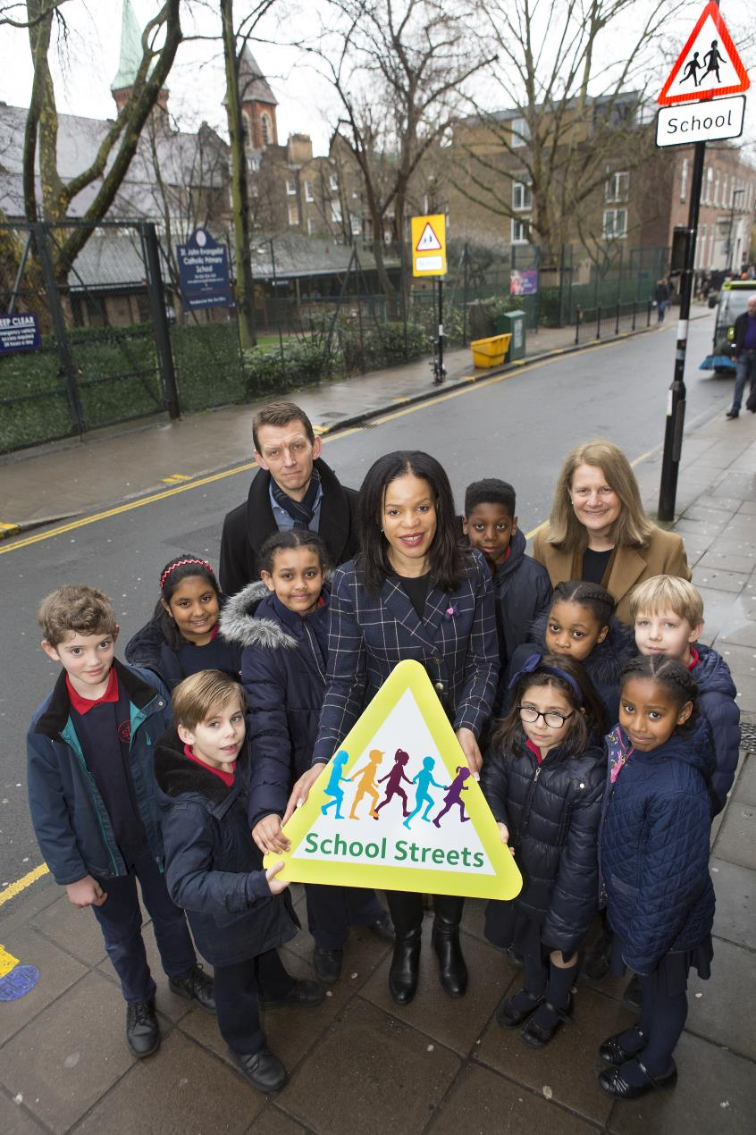 Cllr_Claudia_Webbe%2c_centre%2c_with_St_John_Evangelist_RC_primary_school_pupils%2c_headteacher_Tina_Oliva_and_parent_governor_Justin_Portess