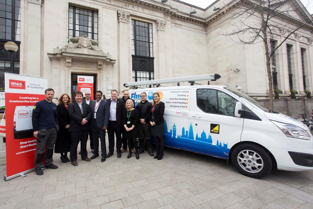 Launch of Islington's Trusted Trader scheme at Islington Town Hall