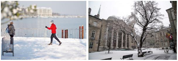 Winter in Geneva