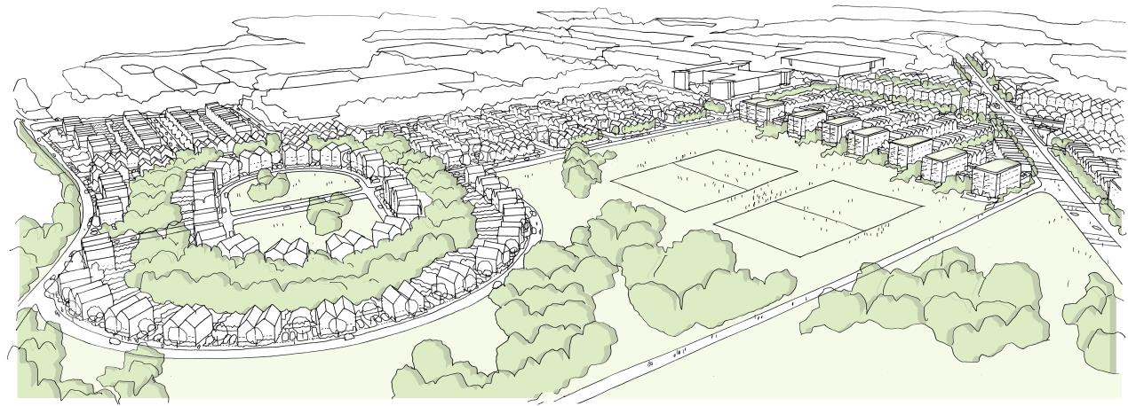 Views invited on preferred masterplan for South Bristol housing scheme