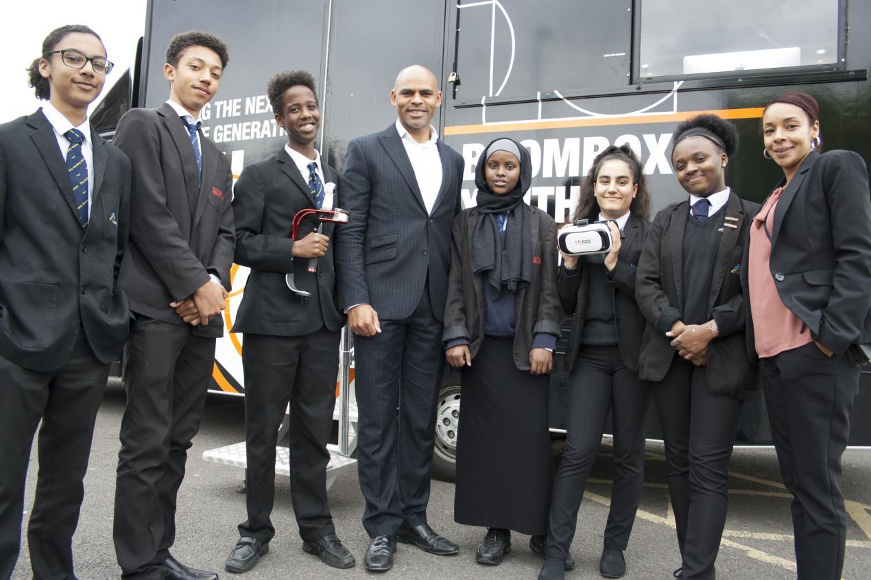 Mayor visits City Academy to celebrate Bristol WORKS
