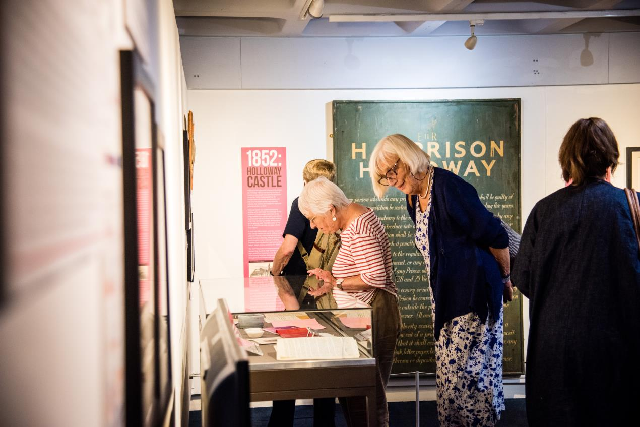 'Echoes of Holloway Prison' exhibition tells stories of the women who passed through its doors