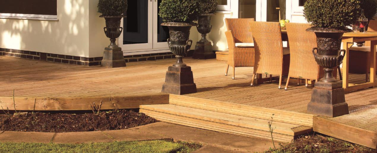 Get your garden ready for outdoor entertaining by giving your decking some love and treatment.