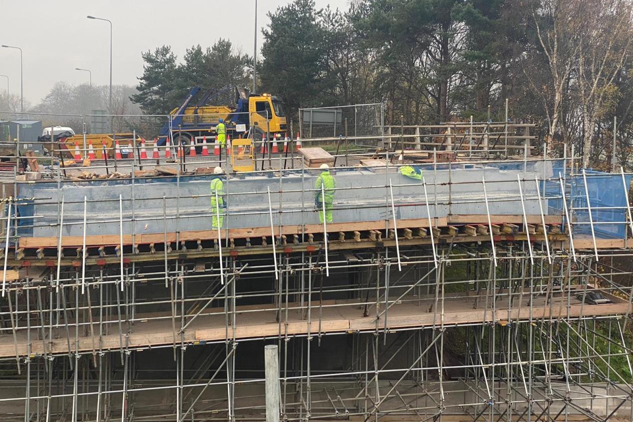 Moreton scaffolding