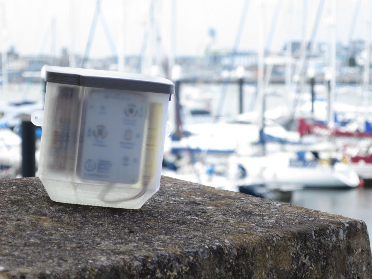 Smart Citizen Kit sensor created by Gareth Evans (Photo credit - Gareth Evans)