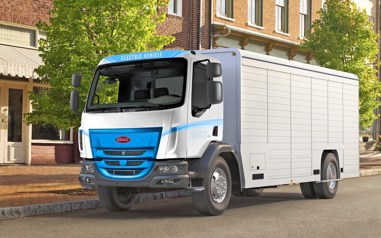 Peterbilt 220EV Battery Electric Truck