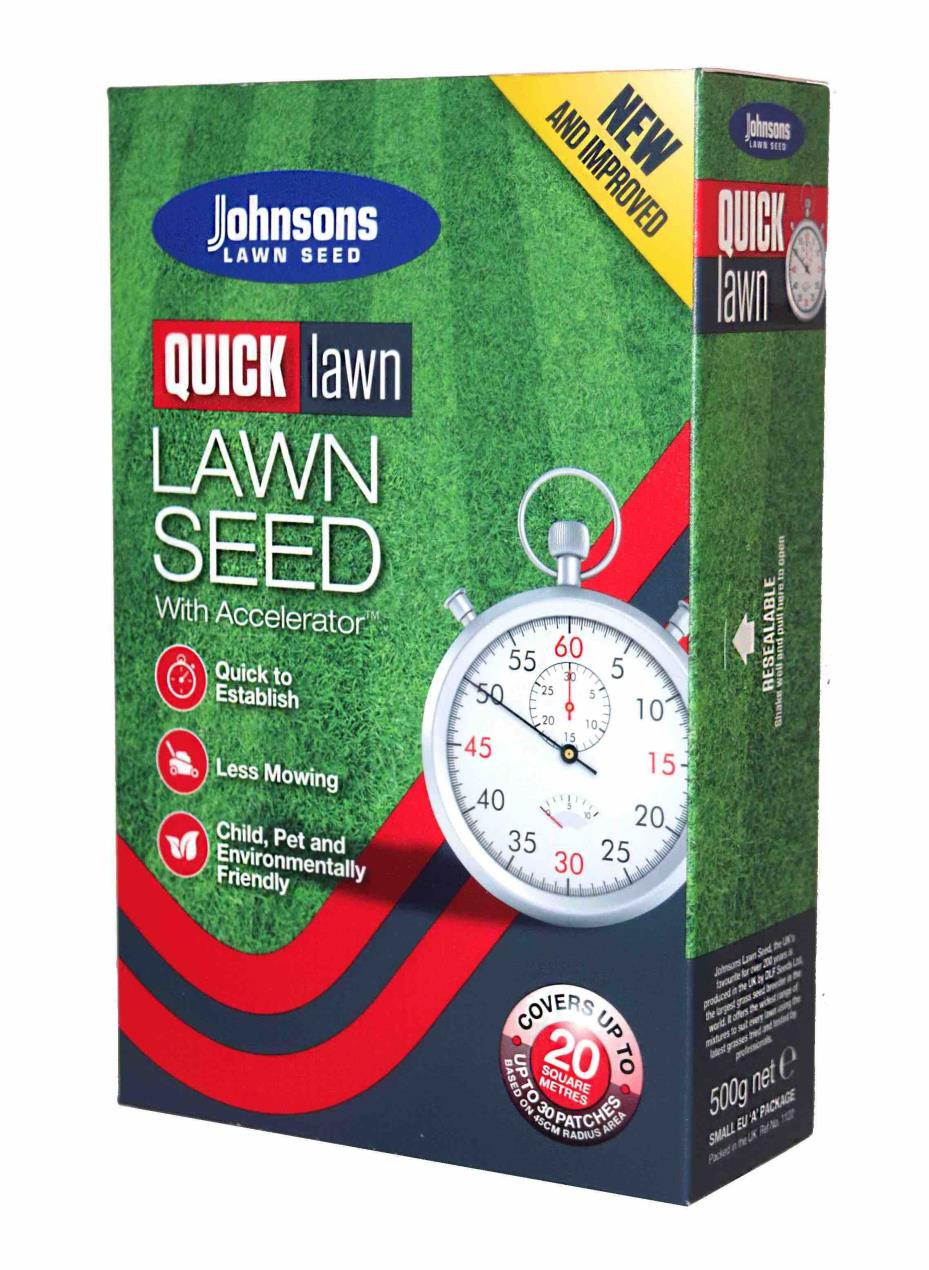 Quick Lawn Lawn Seed with Accelerator