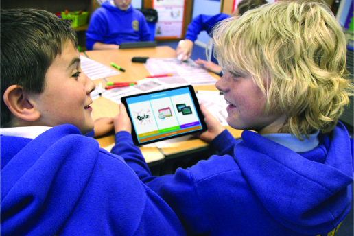Daydream Education's apps being used in school