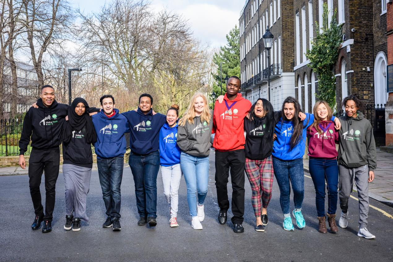 Members of Islington Youth Council, as elected in 2015 (2)