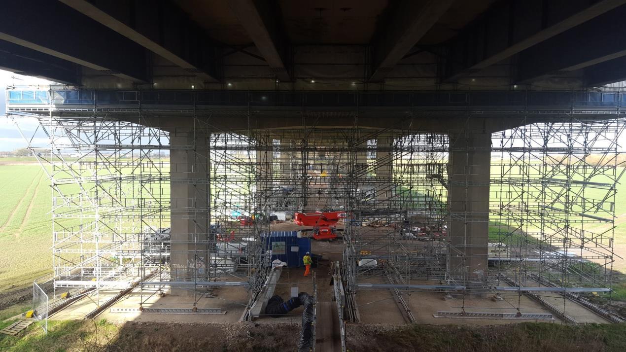Ouse Bridge maintenance