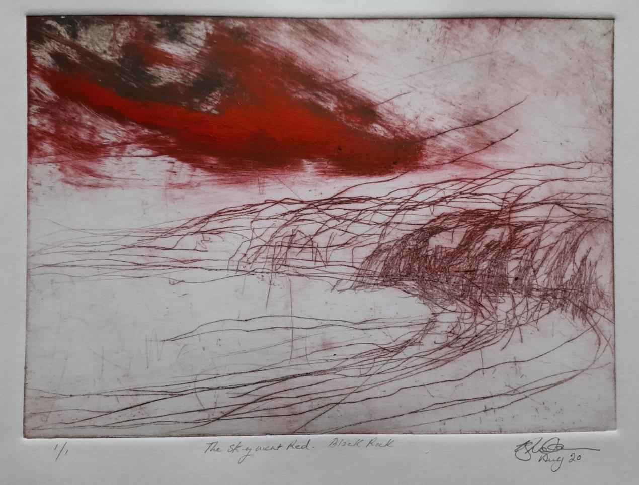 The Sky Went Red Helen Skidmore