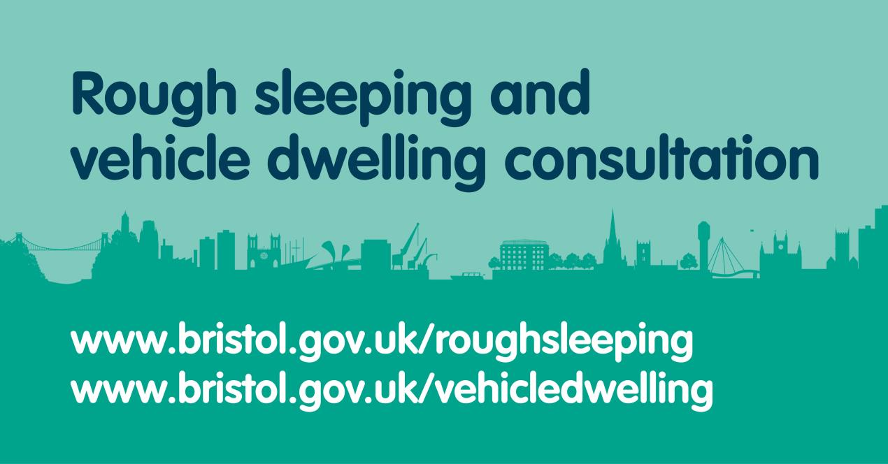 Still time to take part in the rough sleeping and vehicle dwelling draft policy consultations