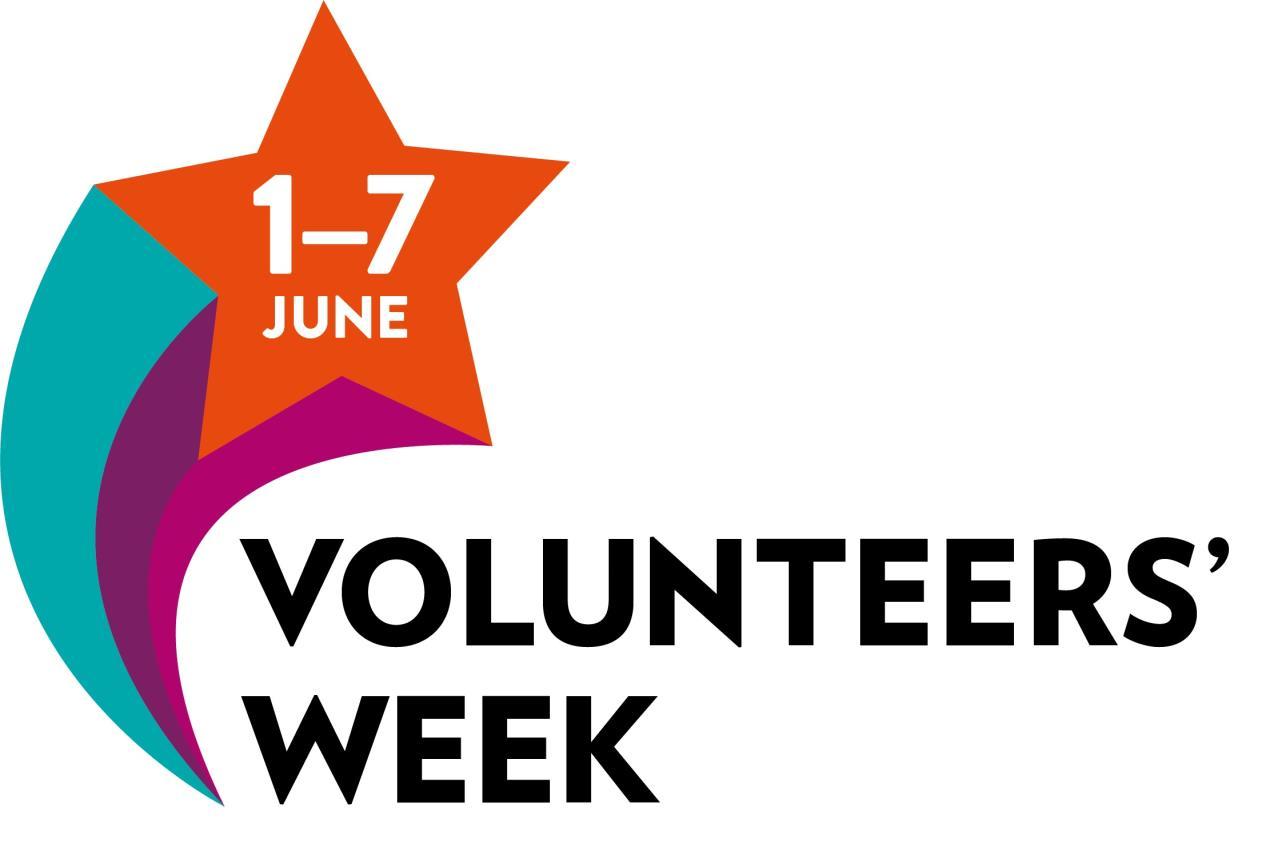 Volunteers' week logo 2021