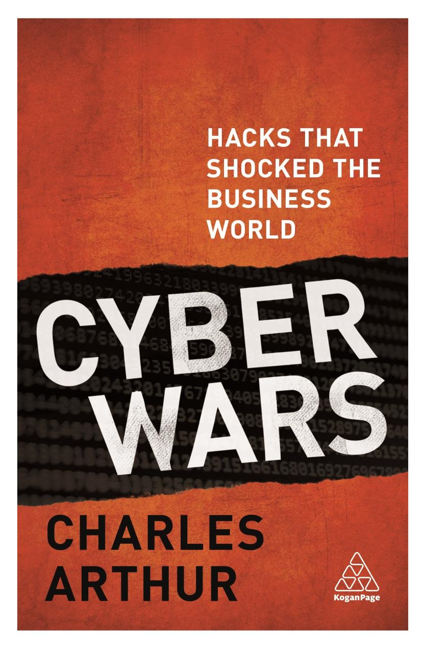 Cyber Wars 9780749482008 with borders