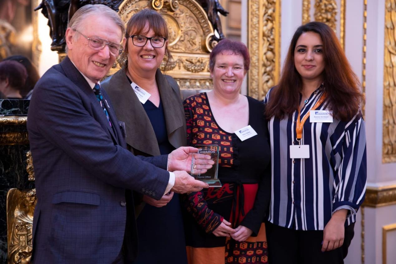 Lord Ferrers Official Award Photo V21Oct2019