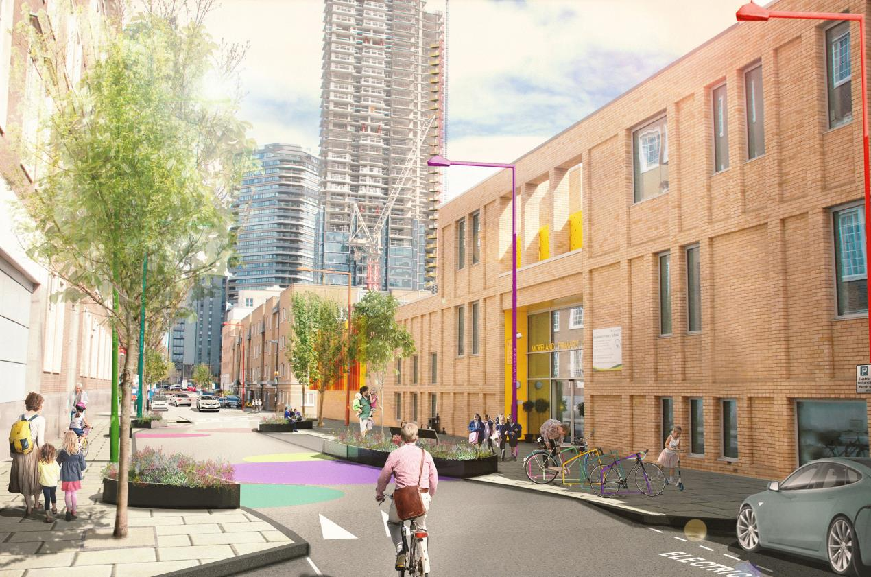 "Pioneering proposal to create ""street for children"" in Islington"