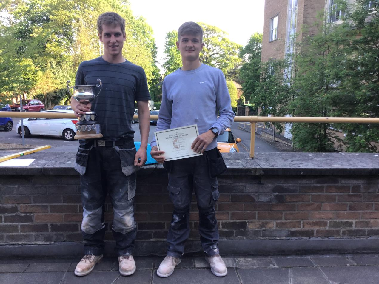 master bricklayers 2019 Jack and Luke
