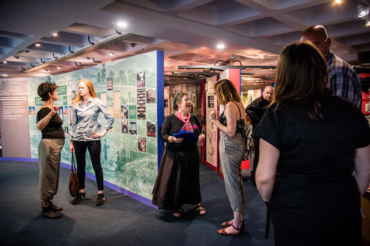 Echoes_of_Holloway_Prison_Exhibition%2c_launch_event._Photo_credit%3a_Islington_Museum.