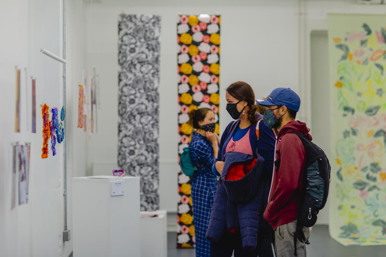 Plymouth College of Art's BA (Hons) Textile Design Summer Show at Royal William Yard, part of IGNITE