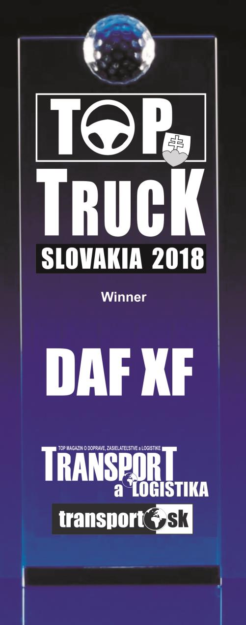 TOP Slovakia 2018 Award - DAF XF series