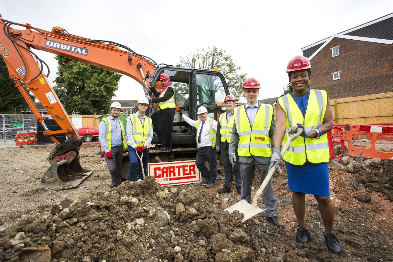 Work begins on new council houses in Holloway, N7