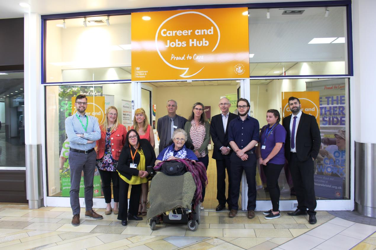 Find your career in care at Bristol's new job shop