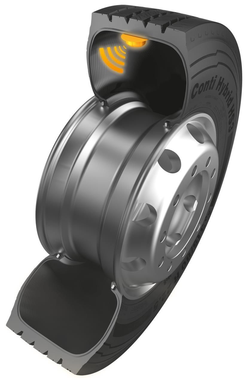 CPC sensor in tyre