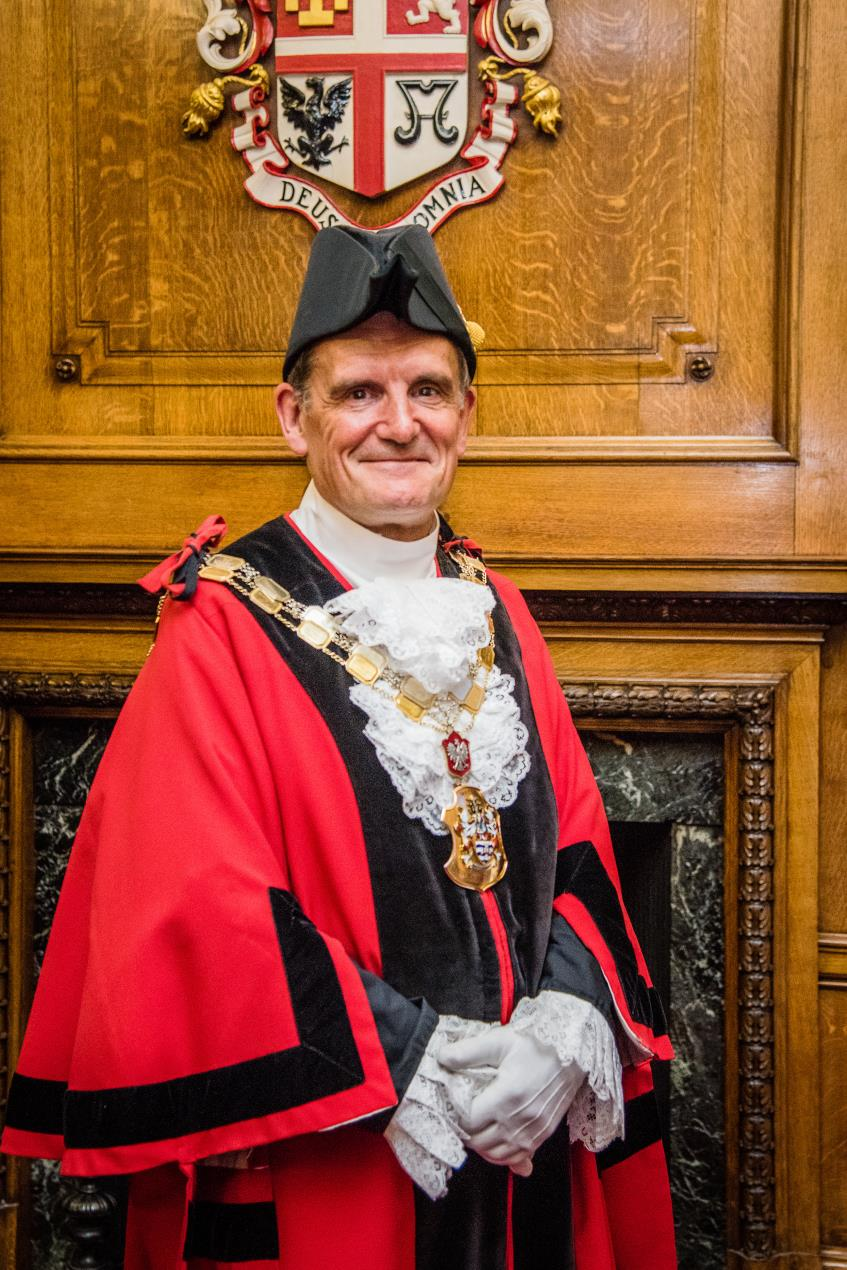 Cllr Dave Poyser, Mayor of Islington