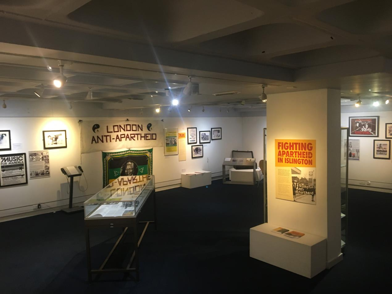Fighting Apartheid in Islington - exhibition
