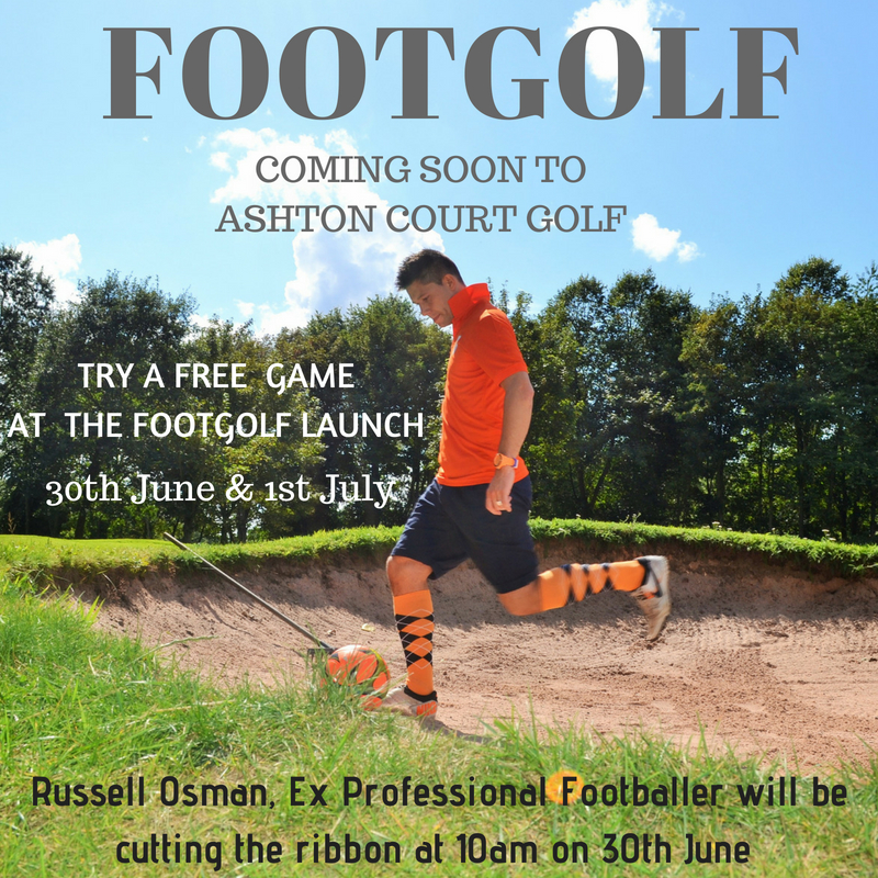 Footgolf comes to Ashton Court