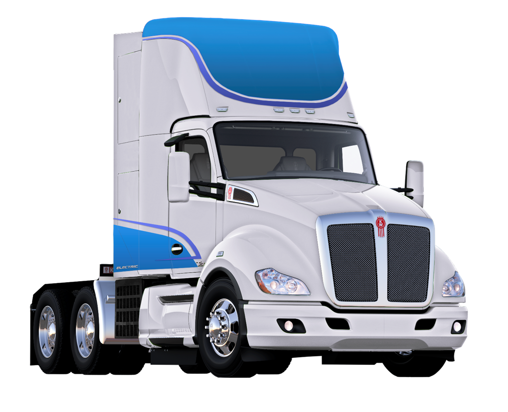 Hydrogen Fuel Cell Electric Kenworth T680 Truck