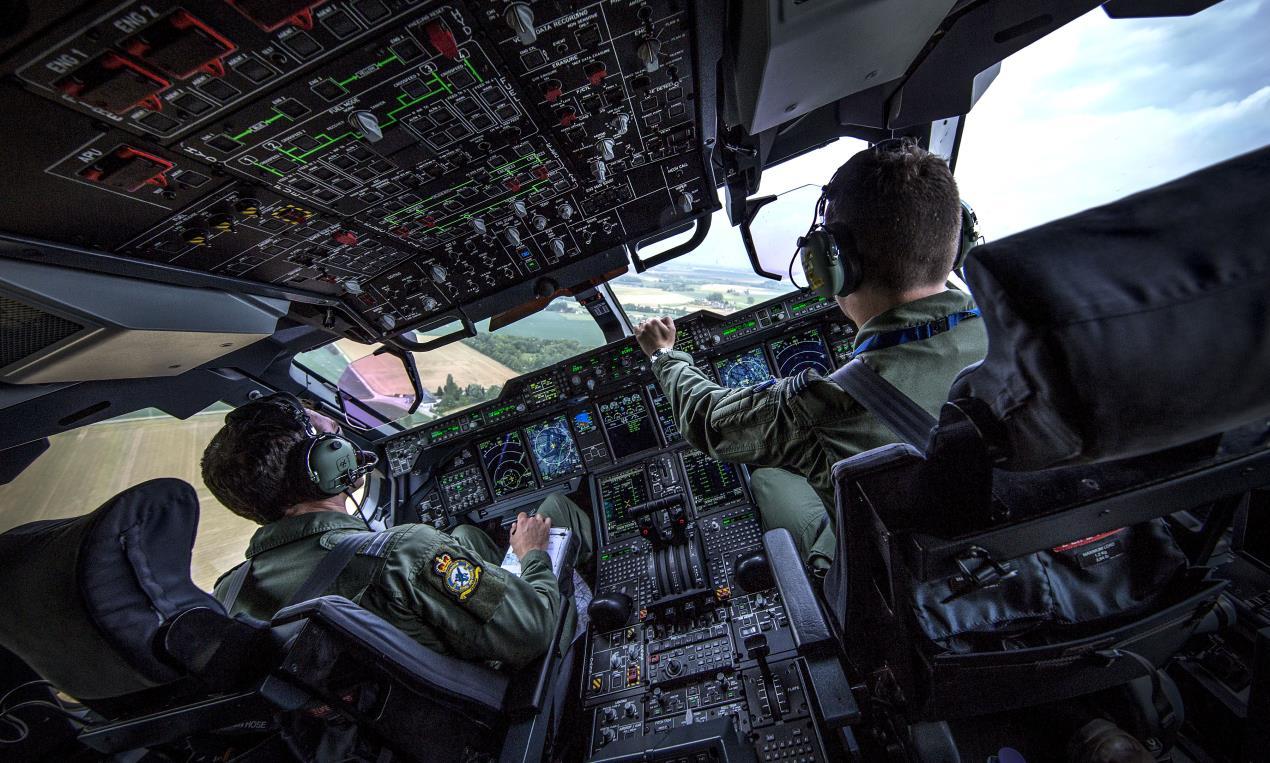 NAFD aerial c UK MOD Crown Copyright 2020