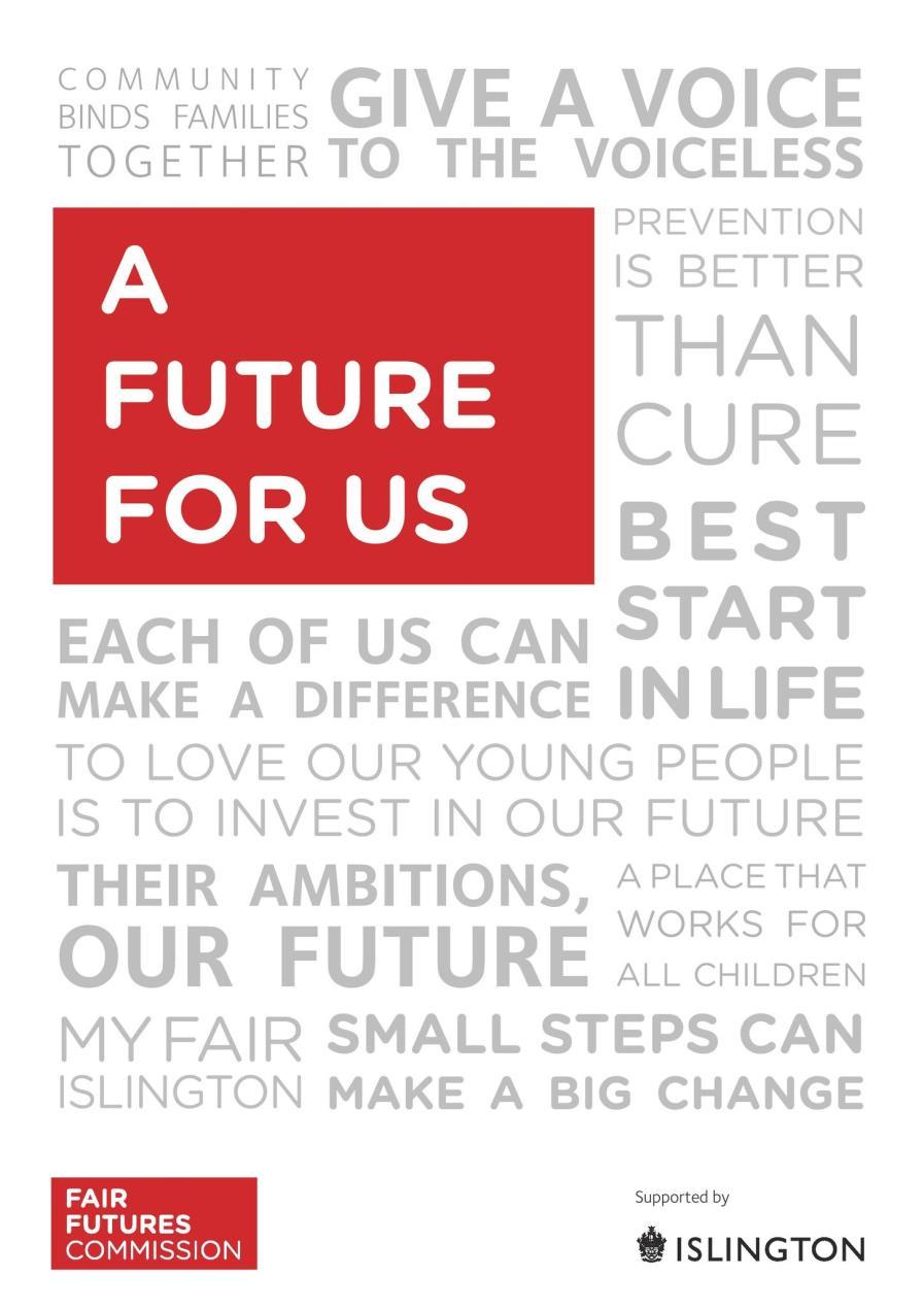 Fair Futures Commission report cover
