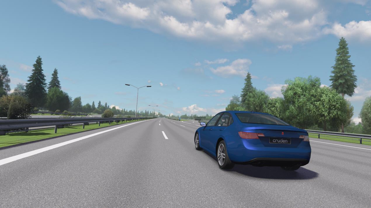 Panthera allows for endless driving simulations and vehicle modelling creations