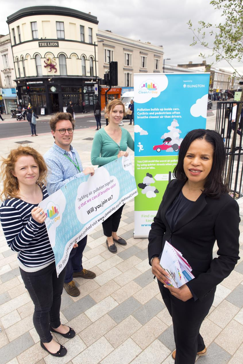 Cllr_Webbe%2c_right%2c_helps_launch_the_first-ever_National_Clean_Air_Day_in_Islington_with_the_council%27s_Archway_ZEN_and_air_quality_teams.