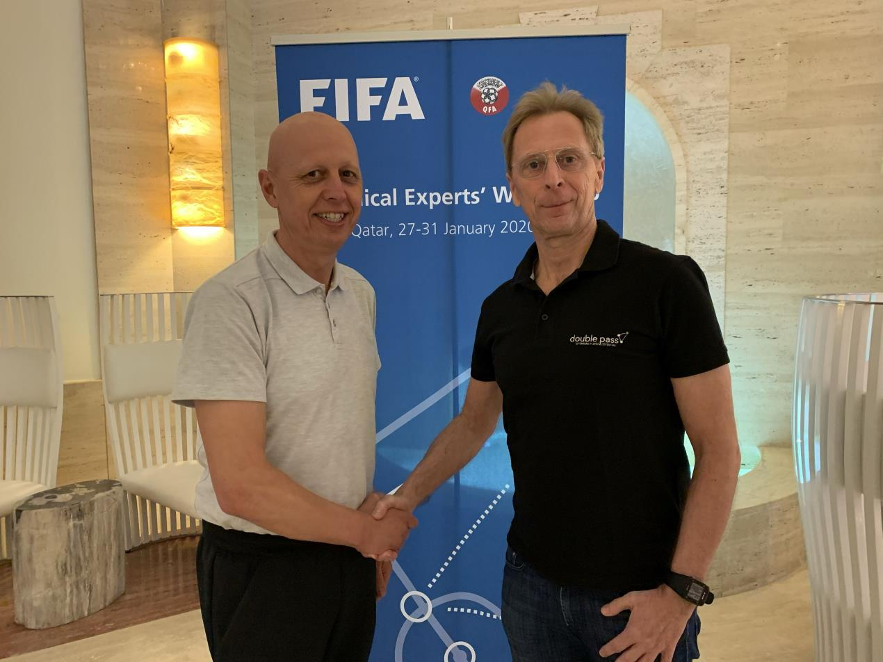 double pass partners with FIFA 2