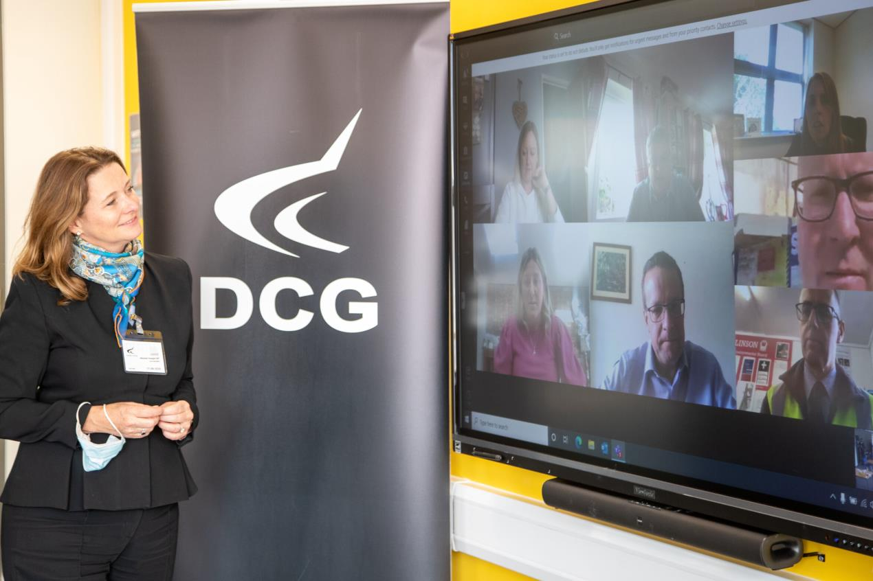 Minister had a virtual meeting with local employers