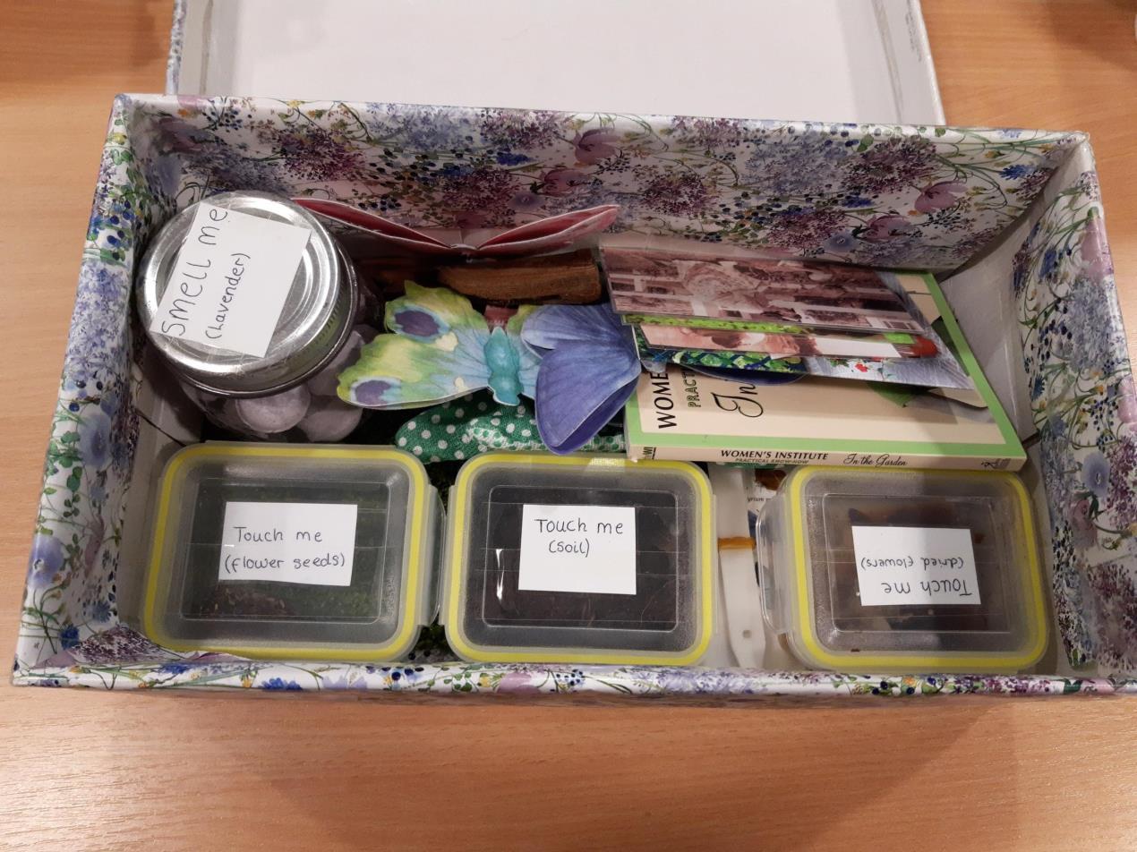 memory box gardening