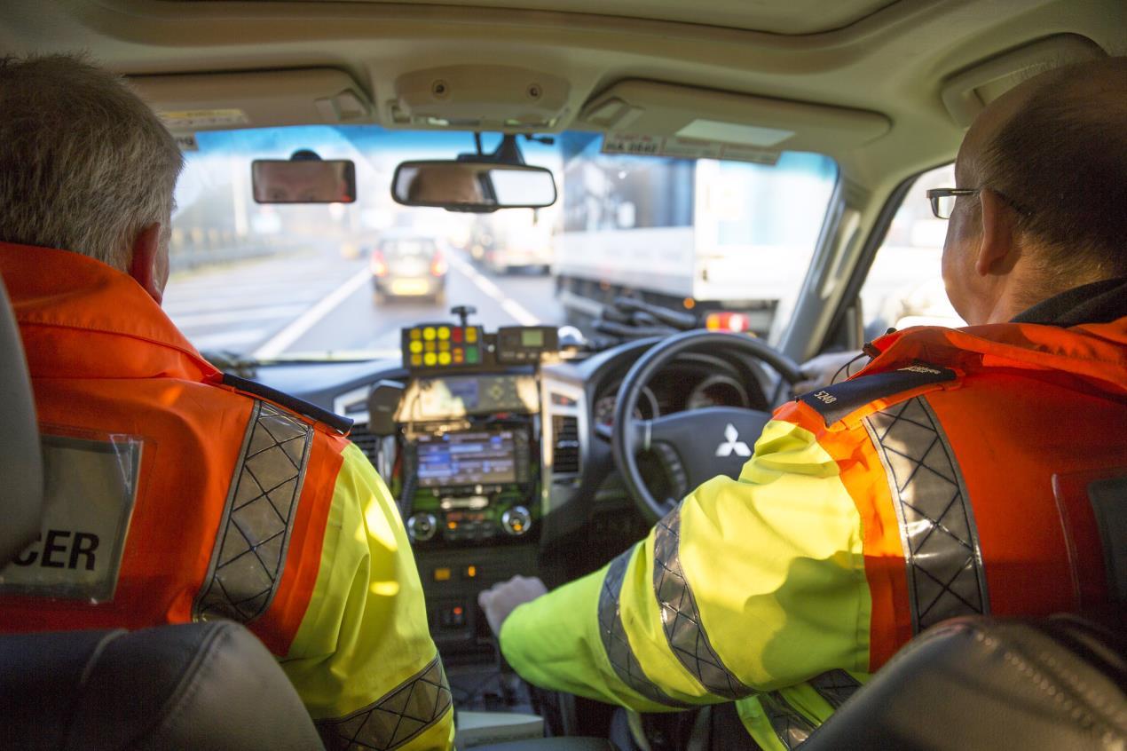 Highways England traffic officers